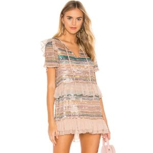 Tularosa | Mason Dress in Pink Multi